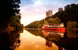 Enjoy a river tour of Durham City