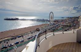 Add sparkle to a romantic break in Brighton and Hove