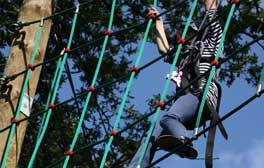 Conquer the High Ropes at the Secret Nuclear Bunker