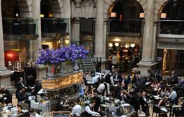 Enjoy a spot of luxury shopping at Royal Exchange