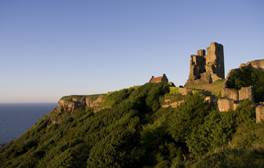 Be royalty for a day at Scarborough Castle