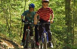 Head off-road on two wheels in Sherwood Forest