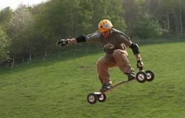 Go mountain boarding in Wenlock Edge
