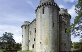 Visit the impressive Nunney Castle