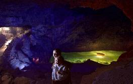 Experience the wonderful underground world of Wookey Hole