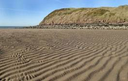 Build sandcastles and paddle in the sea at St Bees