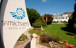 Sea view rooms and aromatherapy at St Michael's
