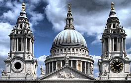 Marvel at the great dome at St Paul's Cathedral