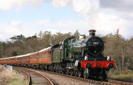 Enjoy a Sunday lunch on the Severn Valley Railway