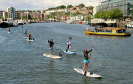 Grab your paddle for an exploration of Bristol's Harbour