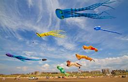 See kites fill the sky at the St Annes on Sea Kite Festival