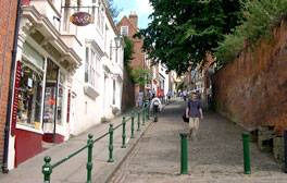 Steep Hill, Lincoln