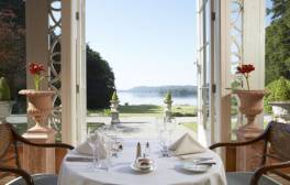 Enjoy luxury by the lake at Storrs Hall Hotel