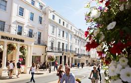 Explore the shops in the Regency town of Royal Leamington Spa