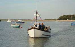 Discover the coastal charm of Felixstowe Ferry