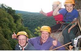 Experience rock climbing in the picturesque Wye Valley