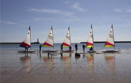 Take the family to Roker beach for a variety of watersports
