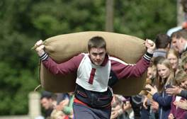 Watch the Tetbury Woolsack Race