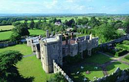 Sleep in a royal bed at Thornbury Castle