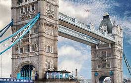 Brave the glass floors high up on Tower Bridge