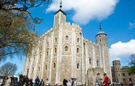 Gaze in wonder at the historic Tower of London