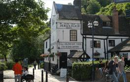 Enjoy a drink at England's oldest pub