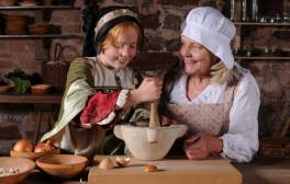Live a day in the life of a Tudor at St Nicholas Priory