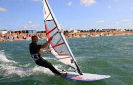Kitesurfing In Hampshire