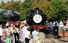 Ride on down to the Didcot Railway Centre