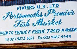 Sample oysters at Portsmouth Fish Market