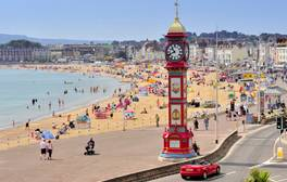 Escape to Weymouth for golden sands and family fun
