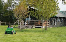 Get close to nature on a glamping break at Mill Farm