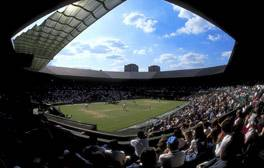Sit courtside at the Wimbledon Tennis Championships