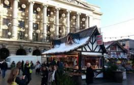 Walk in Nottingham's magical Winter Wonderland