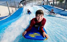 Catch some rays and waves at Woolacombe Beach