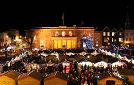 Find your festive spirit at Salisbury's Christmas Market