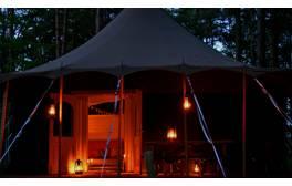 Luxury camping in idyllic North Yorkshire