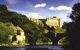 Explore the Norman fortress of Richmond Castle