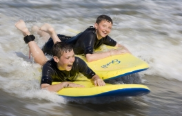 Jump on board and ride the waves with Joss Bay Surf School