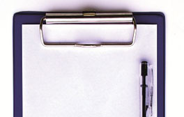Image of a clipboard and pen