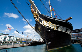 Experience life at sea aboard Brunel's ss Great Britain