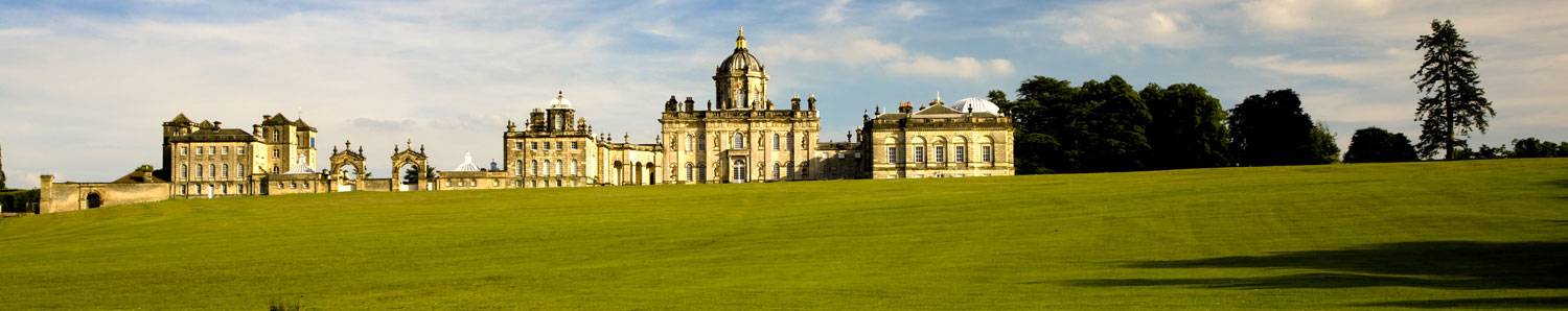 The Great Lake at Castle Howard in North Yorkshire