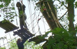 Underground & over ground adventures at Go Ape