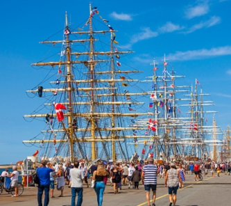 Things to do this weekend; Tall Ships