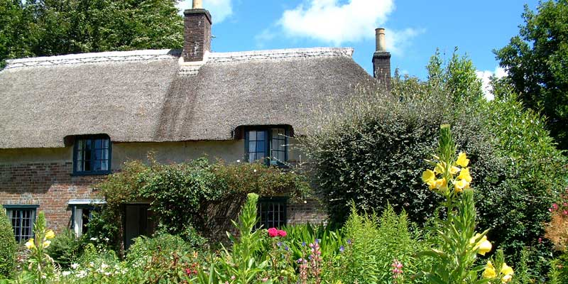 Thomas Hardy's Cottage, Dorset.