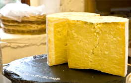 Go on a cheese tasting at Thornby Moor Cheese Dairy