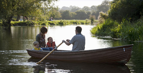 Boating in Suffolk