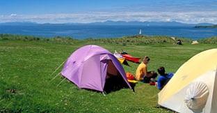 Lugares de acampada