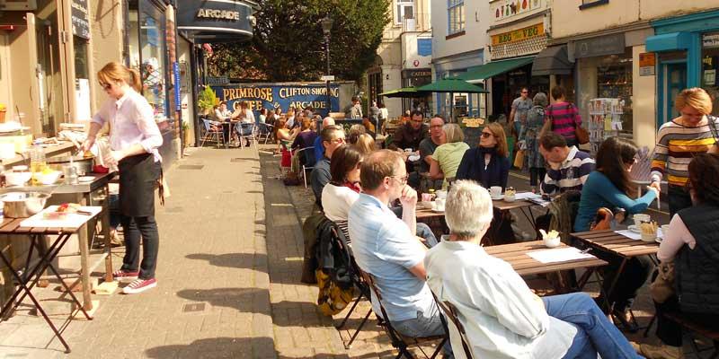 Clifton Village, Bristol.