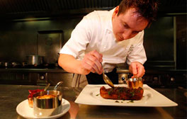 Enjoy first class dining at Michelin-Starred Pipe & Glass Inn